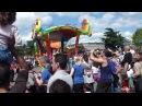 Мини-парад в Диснейленде Париж в 1500 14.06.2012