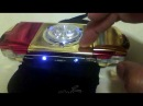 iron man psp with 12 leds 3 way mode led chaser tapping umd door mod by lobo.