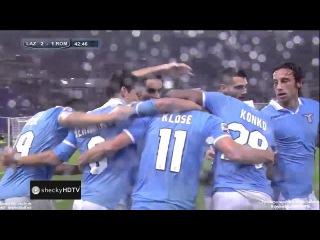 Лацио - Рома 3-2  Обзор