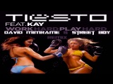 Tiesto Feat. Kay - Work Hard, Play Hard (David Mimrame &amp Street Boy Remix)