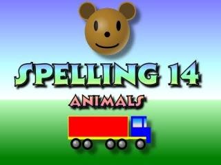 Английский язык. Учимся читать. Произносим слова по буквам - 14. Children's: Spelling 14 - Animals