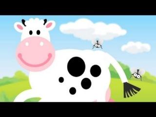 Испанский язык для детей. Песенки. Песенка про корову. Tengo una vaca lechera, canción infantil