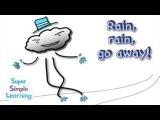 Английский язык. Стихи и песенки для самых маленьких. Rain, Rain, Go Away!