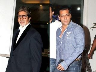 Big B, Salman, Tusshar, Prem Chopra celebrate Sharman's success