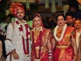 Big B, Abhishek, Rani, Abhay at Esha Deols wedding