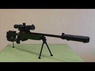 7,62 мм снайперская винтовка СВ-98