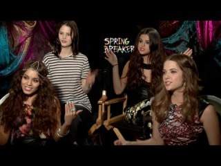SPRING BREAKERS Interview: Selena Gomez, Vanessa Hudgens, Ashley Benson and Rachel Korine
