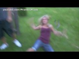 Hot Girlfriend Electric fence Prank