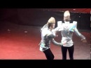John and Edward talking on stage - Hammersmith Apollo 06.12.11