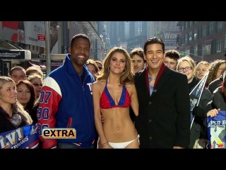 Maria Menounos - Giants Bikini - HD - 2/6/2012 - Extra
