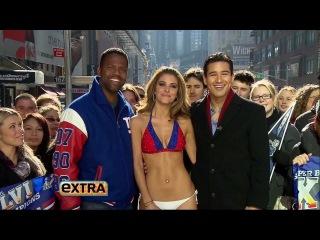 Maria Menounos - Giants Bikini - HD - 2/6/2012 - Extra