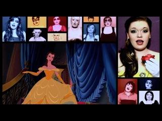 Девушка поёт все песни Disney! Это по-настоящему красиво!