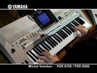 Michel Voncken and the Yamaha PSR-S700 / PSR-S900
