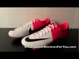 Nike Mercurial Vapor VIII White/Black/Solar Red (Euro 2012 Clash Collection) - UNBOXING