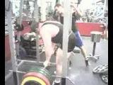 Влад Алхазов, становая тяга со стоек - 476 кг