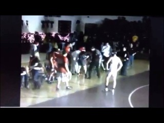 Huge Light Fixture Falls On High School Wrestler Michael McComish In Madison South Dakota
