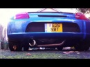 Toyota MR-S Monocraft GT300 2zz reving with Apexi Exhaust