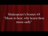 Shakespeare's Sonnet #8: