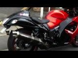 SUZUKI  HAYABUSA GSX 1300R !  VS japan a ghost rider  隼バイク HD YOSHIMURA マフ&