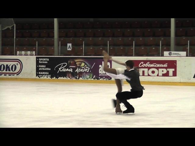 Evgenia TKACHENKO / Yurii HULITSKY, BLR, Junior Ice Dance - Free Dance