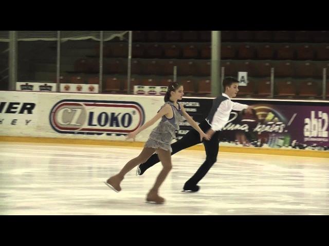 Evgenia TKACHENKO / Yurii HULITSKY, BLR, Junior Ice Dance - Short Dance