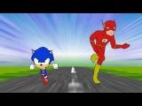 Sonic VS the Flash