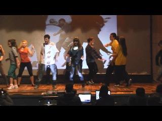 Фестиваль школьных команд Танцуй класс в ДДЮТ (30.03.12)