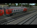 Объединенный обзор электропоездов ЭД4М для Trainz 2012