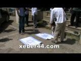 Masallıda qəsbkar Ermənistan və sionist İsrailin bayraqları yandırıldı.