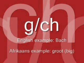 Learn to Speak Afrikaans in 5 minutes! - Pronunciation