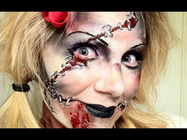 МАСТЕР-КЛАСС по аквагриму Зомби на Хэллоуин