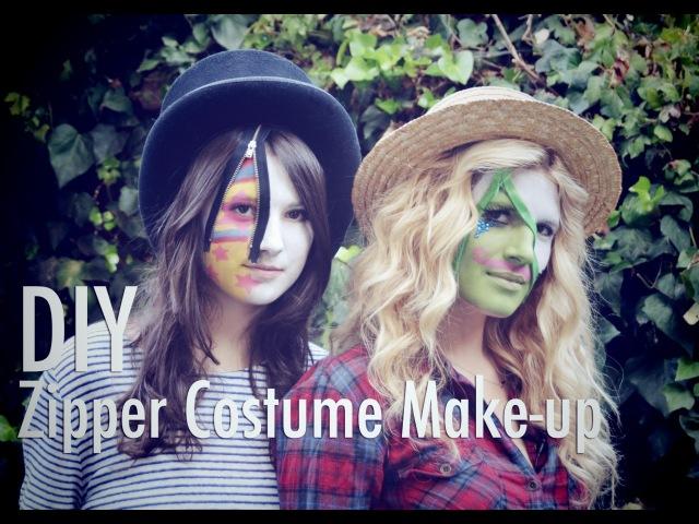 МАСТЕР-КЛАСС по аквагриму/макияжу на Хэллоуин с молниями