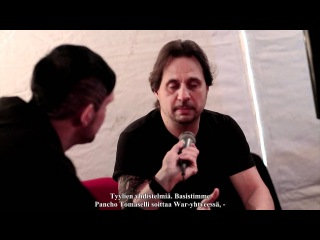 Slayer interview with Dave Lombardo @ Provinssirock 2012