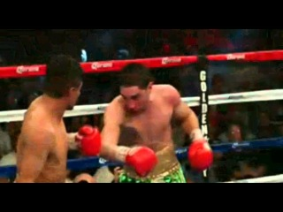Danny Garcia knocks down Erik Morales in the 11th round 3/24/12
