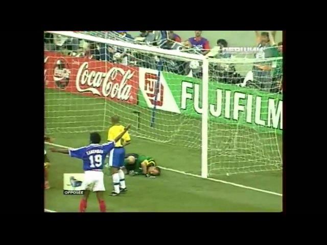 Zinedine Zidane vs Brazil 1998 World Cup