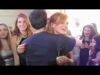 Bella Thorne meeting fans at The Odd Life of Timothy Green Premiere 8/6/12