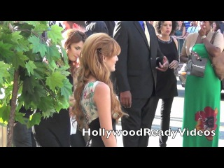 Bella Thorne Arrives to The Premiere of The Odd Life Of Timothy Green in Hollywood!