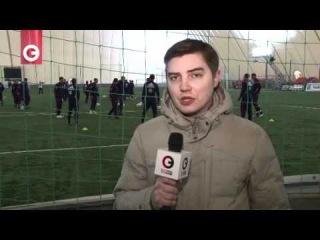 Тренировка Сборной России по футболу Черкизово. ...