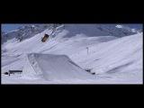 First Backflip Guerlain Chicherit - Mini JC Works - Monster Energy - Tignes / film officiel