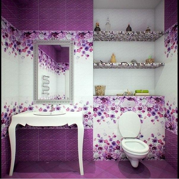 Кафель с цветами фото