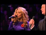 Alexandra Burke &amp Russell Watson - There You'll Be - Royal Remembrance Concert -101112