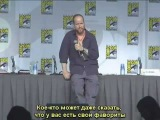 Big Fan asks Joss Whedon who his Favorite Actor is [RUS subtitles]