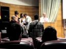 Nerea- Presentando el corto 'Fuga' en el Festival de Málaga 2012