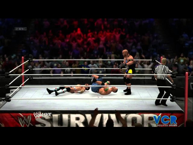 WWE SURVIVOR SERIES 2012 CM Punk vs. John Cena vs. Ryback on WWE 13