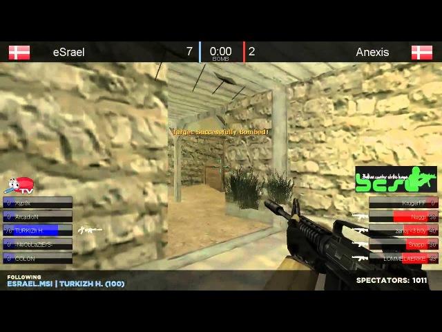 BECSL II Grand Final - Anexis vs. eSrael de_tuscan