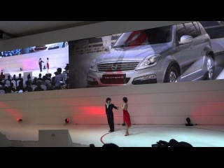 SSangyong Motor Rexton W Debut Performance