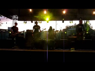 October Tide - Blue Gallery & Infinite Submission (live at Metal Mania - Open Air - 2012)