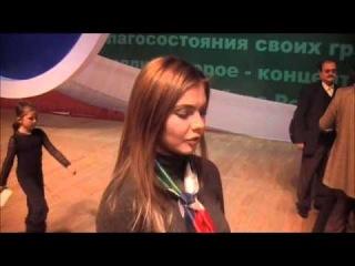 Кабаева о Путине, и о КВНе)