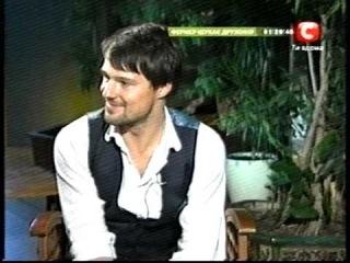 Данила Козловский,канал СТБ, Украина.эфир 16.10.12