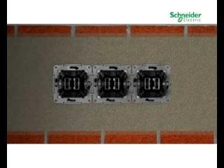Новая серия розеток и выключателей Sedna от компании Schneider Electric